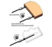 Ekscenter Φ12/120mm